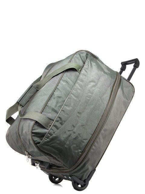 Зелёный чемодан Lbags (Эльбэгс) - артикул: К0000015895 - ракурс 4