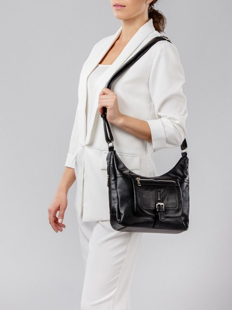 Чёрная сумка планшет S.Lavia (Славия) - артикул: 751 601 01 - ракурс 1