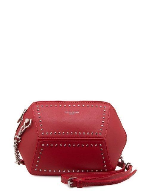 Красная сумка планшет David Jones - 799.00 руб