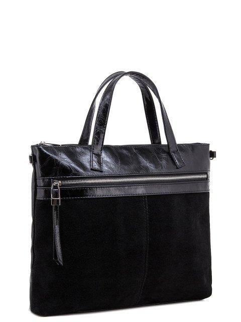 Чёрная сумка классическая S.Lavia (Славия) - артикул: 1035 99 01 - ракурс 3