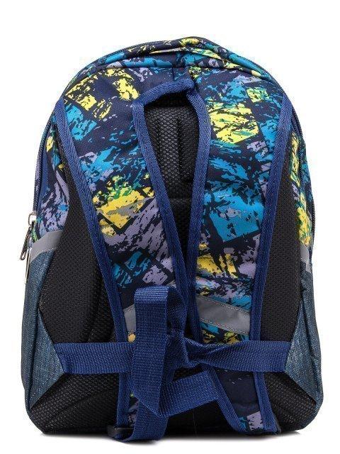 Синий рюкзак Lbags (Эльбэгс) - артикул: 0К-00004854 - ракурс 3