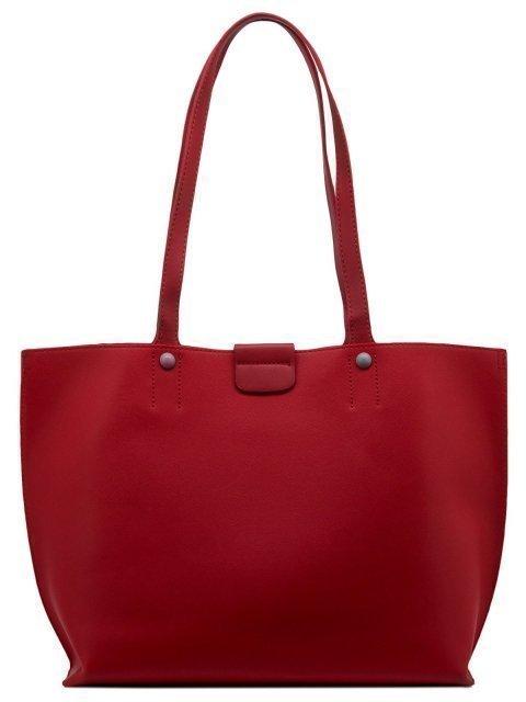 Красный шопер David Jones (Дэвид Джонс) - артикул: 0К-00010989 - ракурс 4
