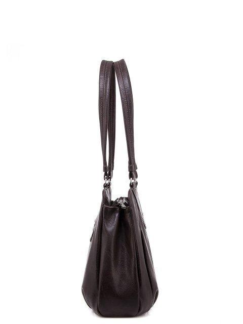 Коричневая сумка классическая S.Lavia (Славия) - артикул: 598 512 12 - ракурс 2
