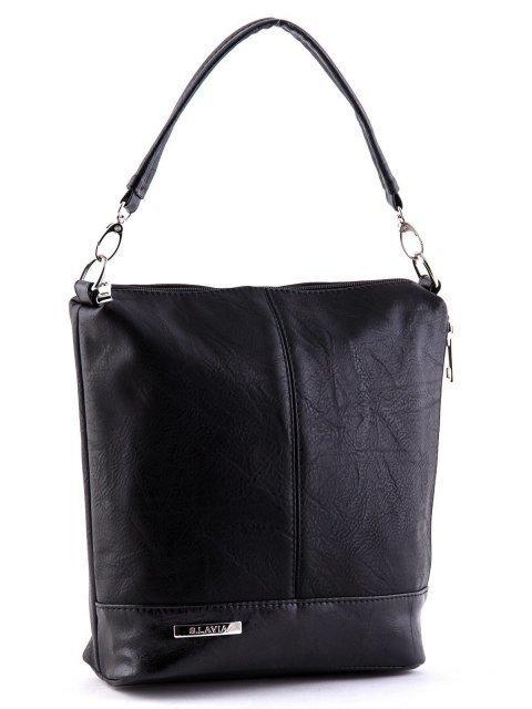 Чёрная сумка планшет S.Lavia (Славия) - артикул: 251 512 01 - ракурс 2