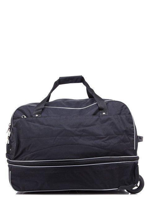 Чёрный чемодан Lbags (Эльбэгс) - артикул: К0000018584 - ракурс 3