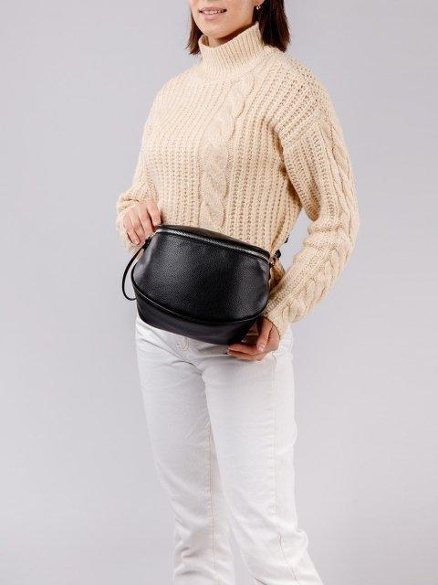 Чёрная сумка планшет S.Lavia (Славия) - артикул: 1011 902 01 - ракурс 1