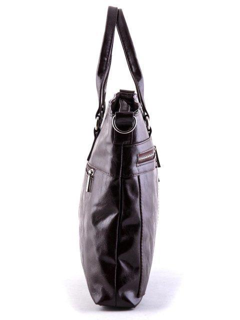Коричневая сумка классическая S.Lavia (Славия) - артикул: 355 048 12 - ракурс 3