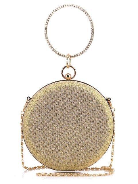 Золотая сумка планшет Angelo Bianco - 760.00 руб