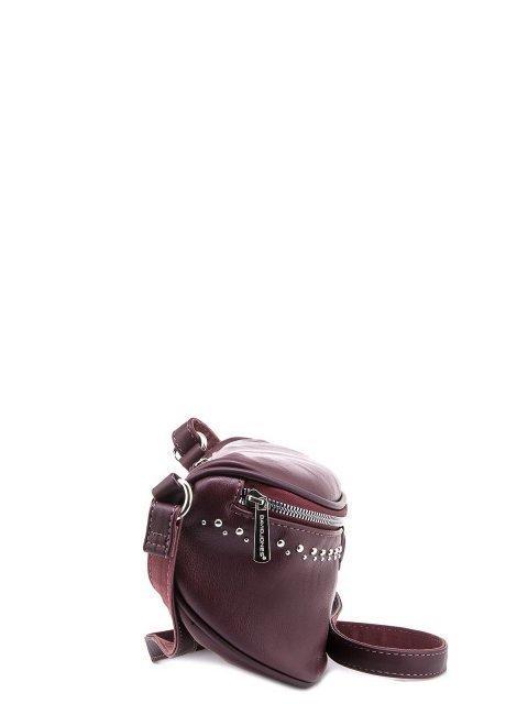 Бордовая сумка на пояс David Jones (Дэвид Джонс) - артикул: 0К-00005940 - ракурс 2