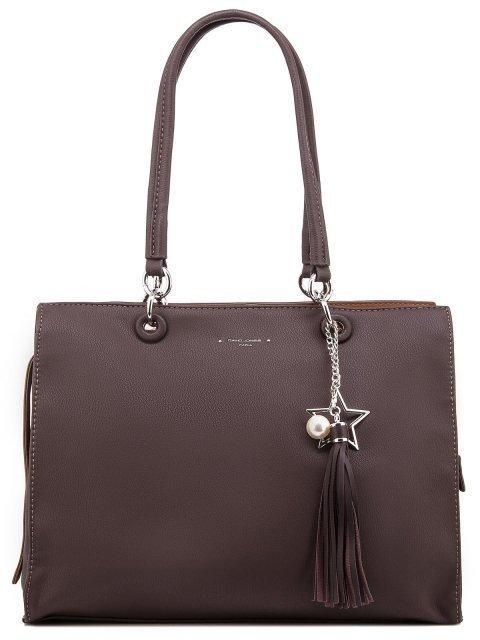 Коричневая сумка классическая David Jones - 1450.00 руб