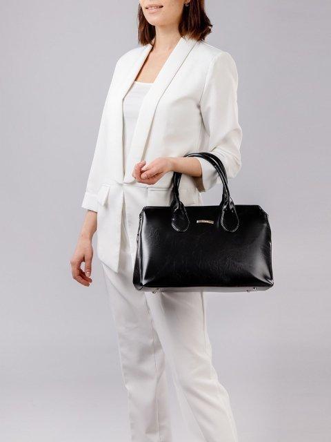 Чёрная сумка классическая S.Lavia (Славия) - артикул: 744 586 01 - ракурс 1