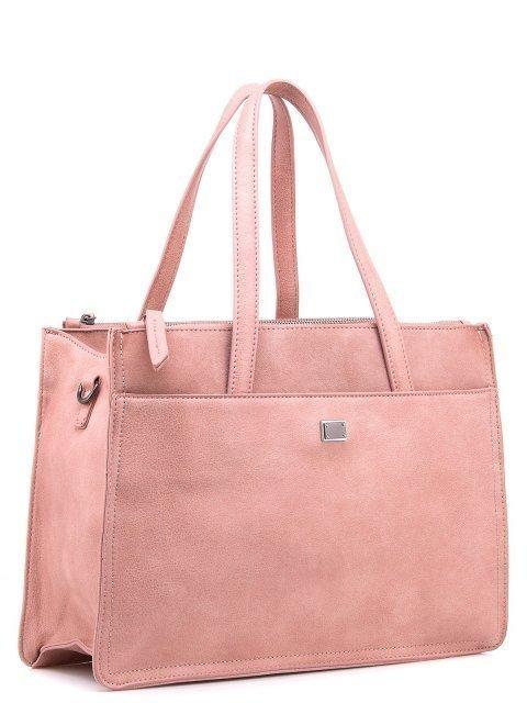 Розовый шоппер Domenica (Domenica) - артикул: 0К-00002064 - ракурс 1