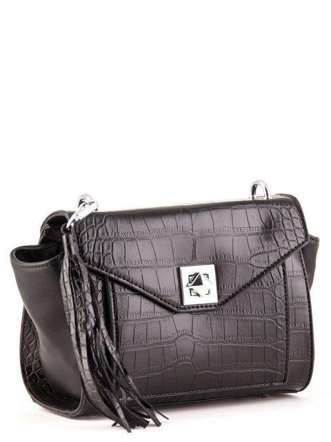 Чёрная сумка планшет S.Lavia (Славия) - артикул: К0000025922 - ракурс 2