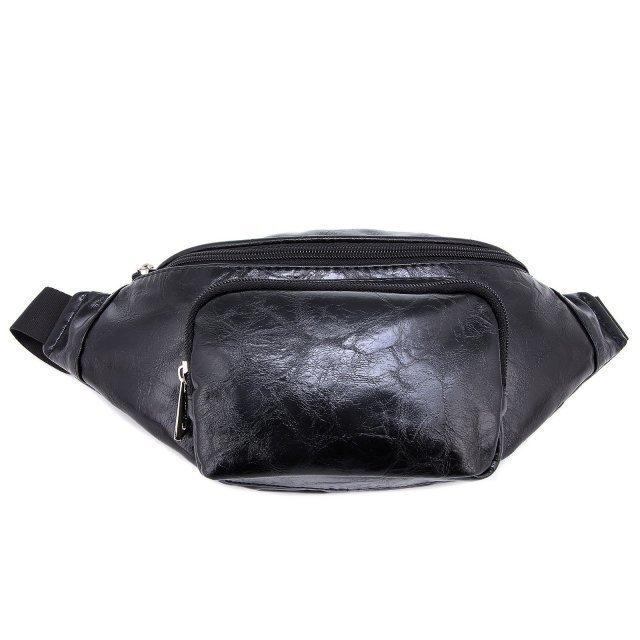 Чёрная сумка на пояс S.Lavia - 1499.00 руб
