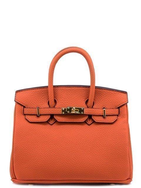 Оранжевая сумка классическая Angelo Bianco - 899.00 руб