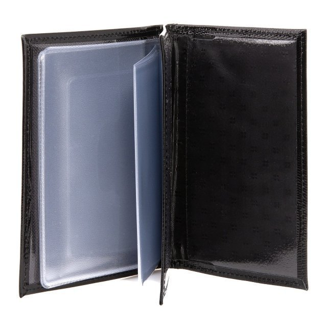 Чёрная обложка для документов S.Lavia (Славия) - артикул: К0000016370 - ракурс 2