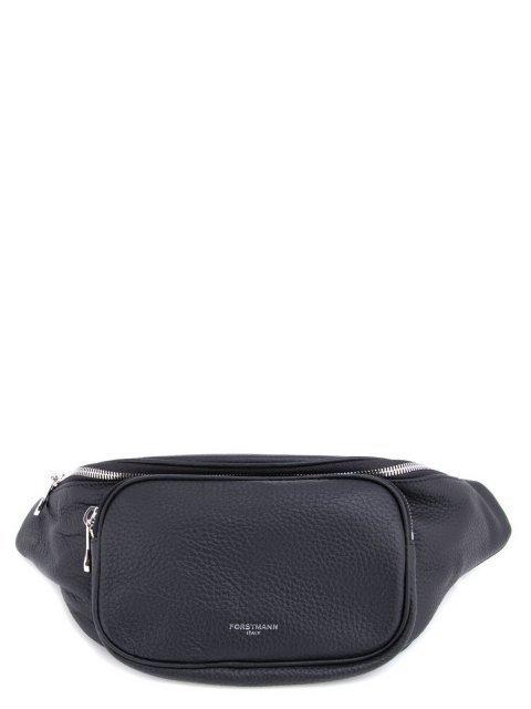 Чёрная сумка на пояс FORSTMANN - 1794.00 руб