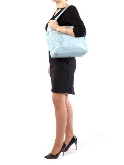 Голубая сумка классическая Arcadia (Аркадия) - артикул: К0000028217 - ракурс 1