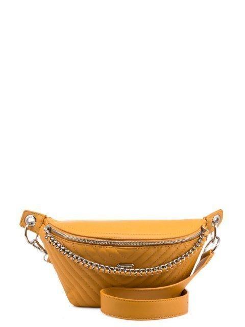 Жёлтая сумка на пояс David Jones - 1231.00 руб