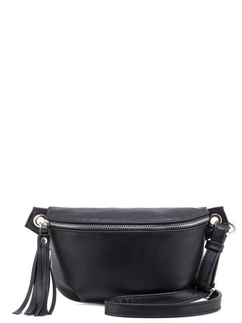 Чёрная сумка на пояс S.Lavia - 979.00 руб