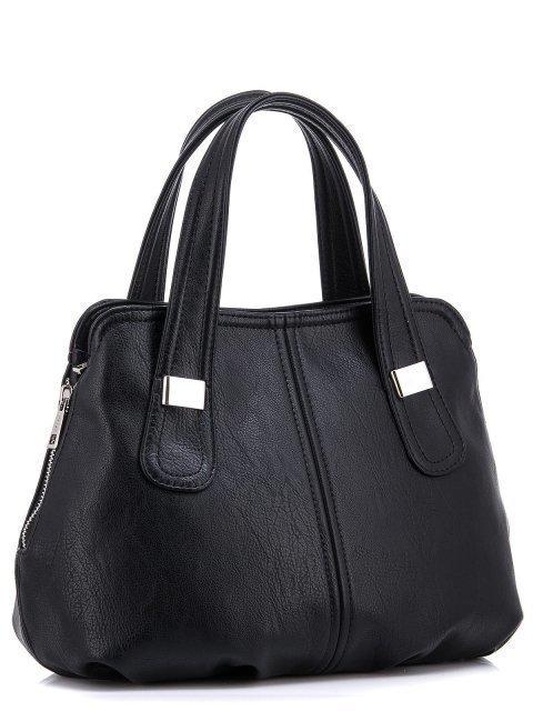 Чёрная сумка классическая S.Lavia (Славия) - артикул: 466 62 01 - ракурс 1
