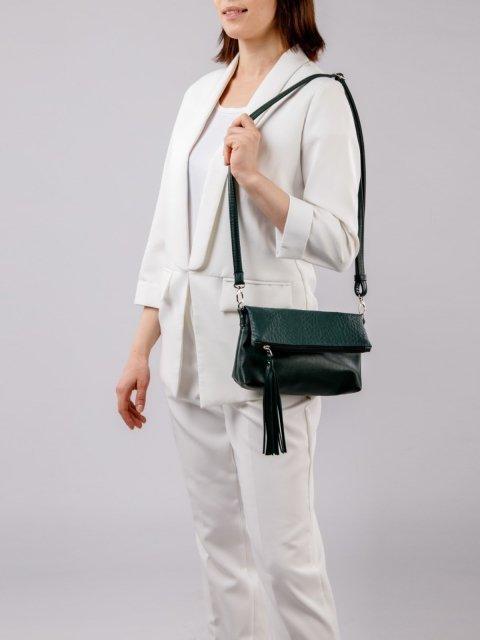 Зелёная сумка планшет S.Lavia (Славия) - артикул: 1090 838 31 - ракурс 1