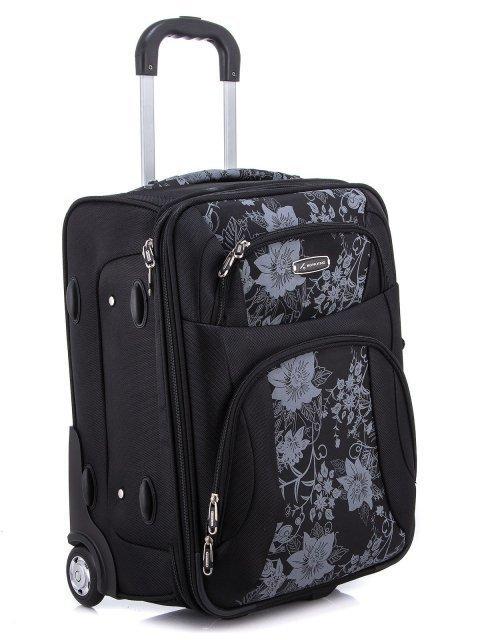 Чёрный чемодан Monkking (Монкинг) - артикул: 0К-00000211 - ракурс 1