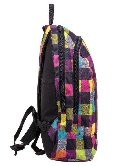 Фиолетовый рюкзак Lbags (Эльбэгс) - артикул: К0000030342 - ракурс 2