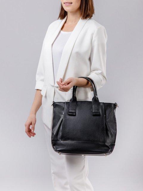 Чёрная сумка классическая S.Lavia (Славия) - артикул: 0050 12 01 - ракурс 1