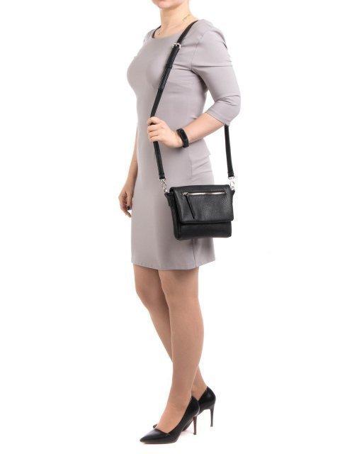 Чёрная сумка планшет S.Lavia (Славия) - артикул: 818 902 01 - ракурс 1
