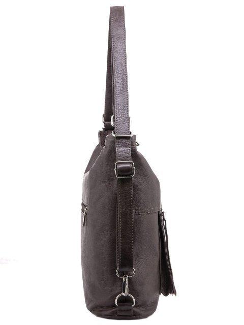 Коричневая сумка мешок S.Lavia (Славия) - артикул: 657 601 12 - ракурс 2