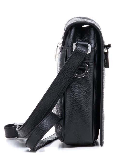 Чёрная сумка планшет Giudi (Джуди) - артикул: К0000030701 - ракурс 2