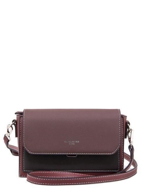 Бордовая сумка планшет David Jones - 1200.00 руб