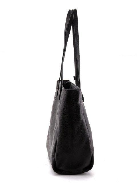 Чёрный шоппер Arcadia (Аркадия) - артикул: К0000028280 - ракурс 3