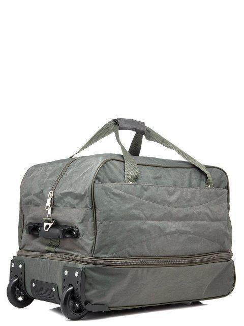 Зелёный чемодан Lbags (Эльбэгс) - артикул: К0000015895 - ракурс 1