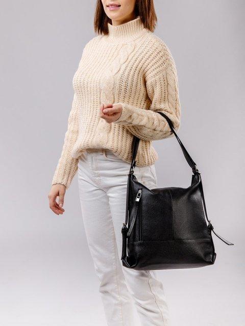 Чёрная сумка мешок S.Lavia (Славия) - артикул: 0041 13 01 - ракурс 1