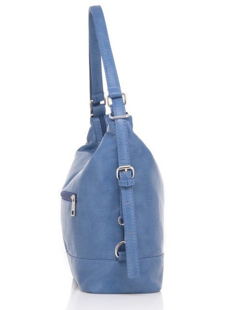 Синяя сумка мешок S.Lavia (Славия) - артикул: 869 601 70 - ракурс 2