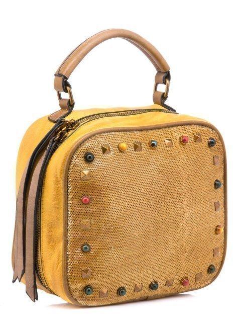 Жёлтый кросс-боди Domenica (Domenica) - артикул: 0К-00002083 - ракурс 1