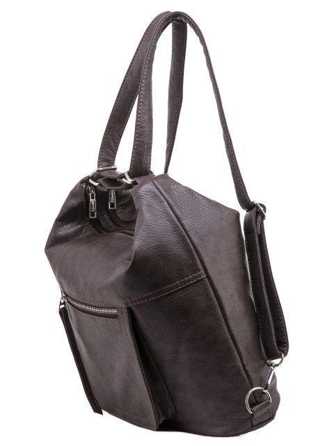 Коричневая сумка мешок S.Lavia (Славия) - артикул: 657 601 12 - ракурс 4