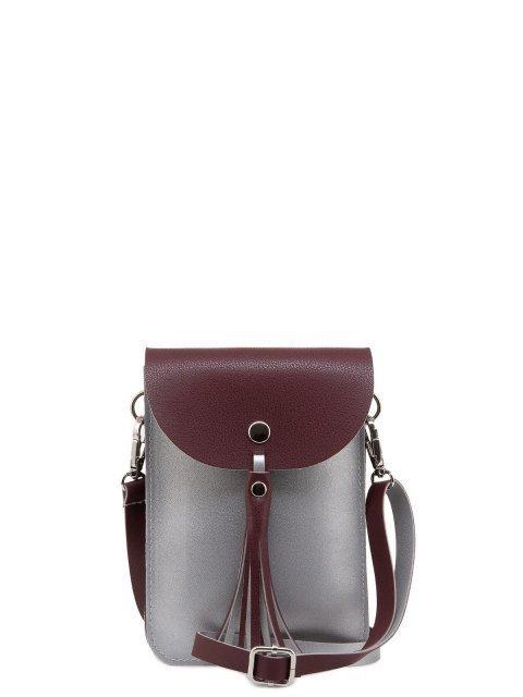 Бордовая сумка планшет S.Lavia - 823.00 руб