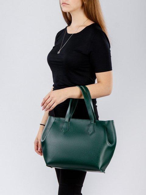 Зелёная сумка классическая S.Lavia (Славия) - артикул: 1047 94 31 - ракурс 1