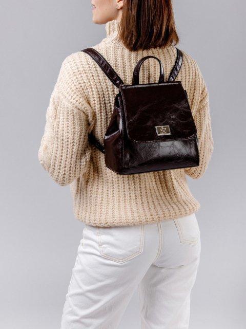 Коричневый рюкзак S.Lavia (Славия) - артикул: 877 048 12 - ракурс 2