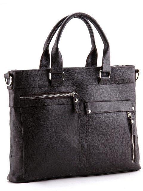 Коричневая сумка классическая S.Lavia (Славия) - артикул: 0026 12 12 - ракурс 1