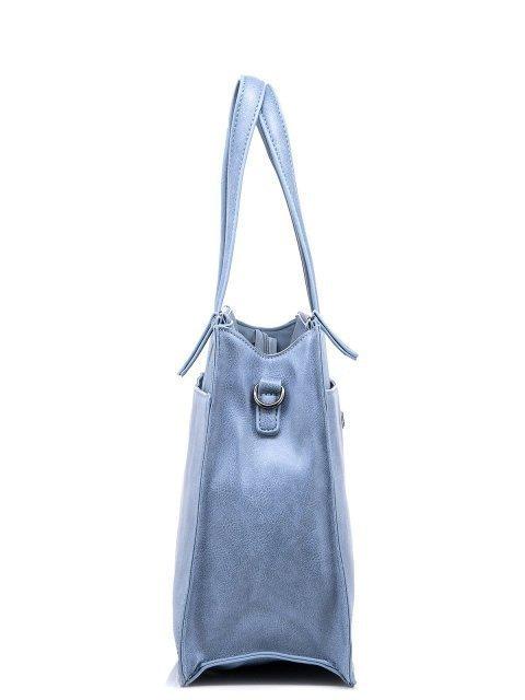 Голубой шоппер Domenica (Domenica) - артикул: 0К-00002063 - ракурс 2
