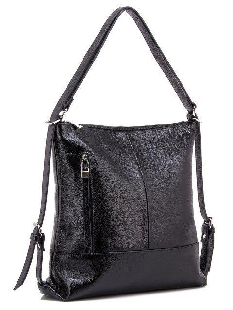 Чёрная сумка мешок S.Lavia (Славия) - артикул: 0041 13 01 - ракурс 4