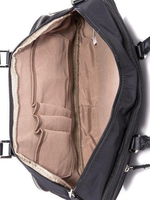 Чёрная сумка классическая David Jones (Дэвид Джонс) - артикул: К0000034175 - ракурс 4