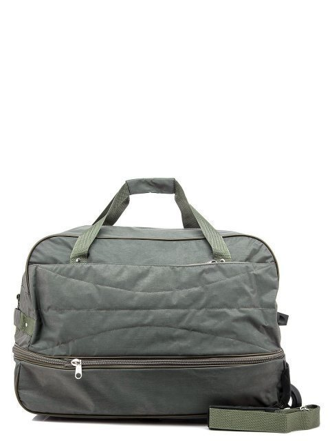 Зелёный чемодан Lbags (Эльбэгс) - артикул: К0000015895 - ракурс 3