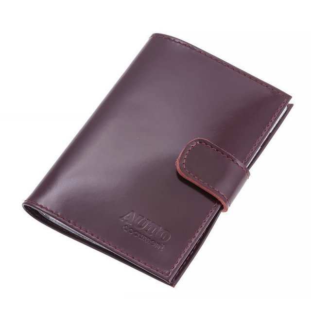 Бордовый бумажник S.Lavia - 750.00 руб