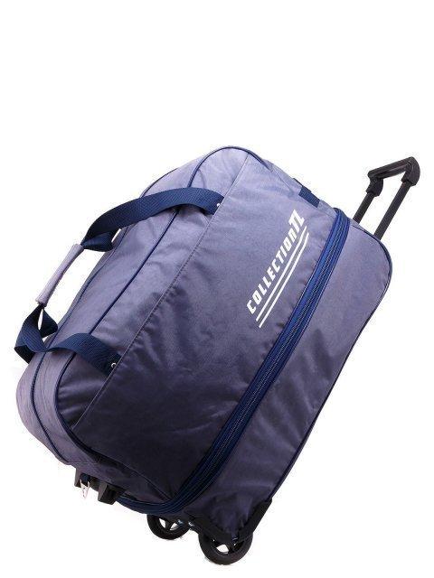 Серый чемодан Lbags (Эльбэгс) - артикул: К0000013255 - ракурс 4