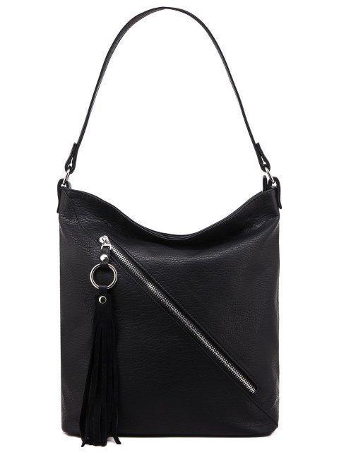 Чёрная сумка мешок S.Lavia - 1623.00 руб
